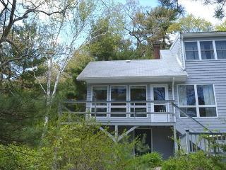 Water's Edge: Direct waterfront on picturesque Goose Cove with dock