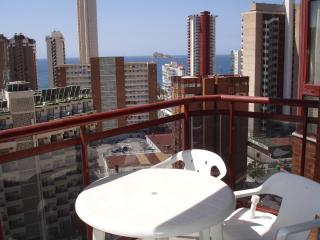 Open balcony with view to Levante beach