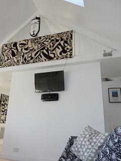 TV Facilities in Living Room by mezzanine