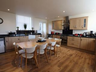 Very Spacious and Well Equipped Oak Fitted Dining Kitchen. Seats 10 People.