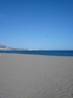 Fuengirola beach - 15-20 min drive away. (Calahonda beach within walking distance)