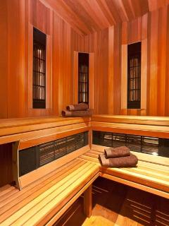 Long wave radiation sauna - the newest technology