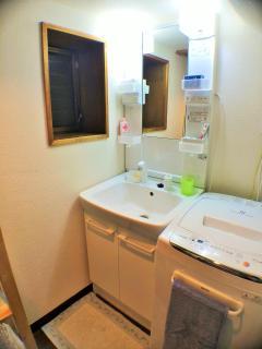 1F Vanity and Washing machine