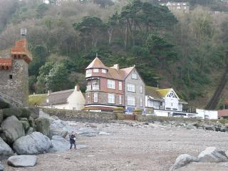 Lynmouth seafront holiday home