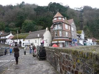 Lynmouth seafront holiday home - as seen on Fantasy Homes by the Sea