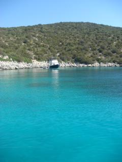 Turquoise Waters of a Tranquil Bay