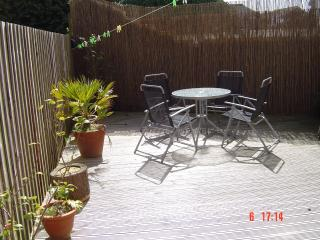 private fully enclosed garden