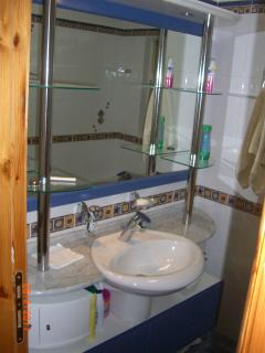 Main Bathroom vanity area