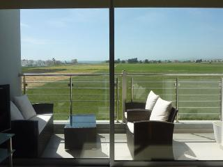 Uninterrupted views out of massive patio doors