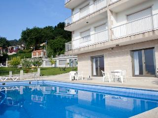 Apartament with view to the ocean near Sanxenxo