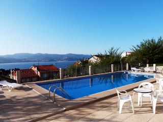 Apartament with view to the ocean near Sanxenxo