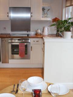 Fully fitted kitchen includes, microwave, electric cooker. Washing / Dryer  in separate utility room