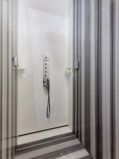 Luxury marble shower