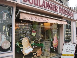 One of the excellent boulangeries in Ploeuc sur Lie