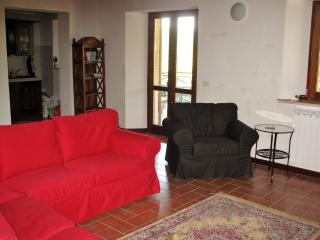 Lounge with comfortable sofas