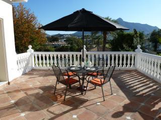 Front upper terrace