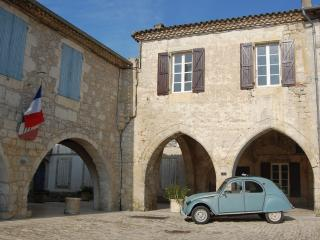 History and luxury in authentic French village