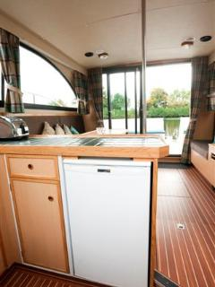 Full size fridge on board