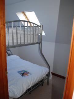 Triple bunk Room