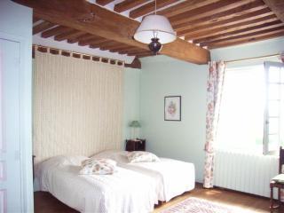Chambre twin CONCERTO - Salle de bains et WC., Vieux-Pont-en-Auge