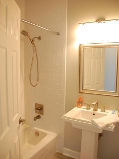 Shower / tub in bathroom
