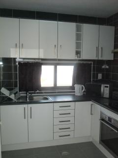 Modern kitchen with all appliances you require