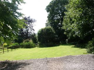 Ample parking and large garden
