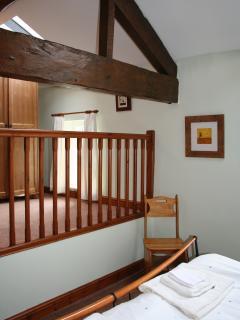 Dressing area in master bedroom