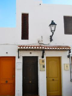 front door, andalusian style