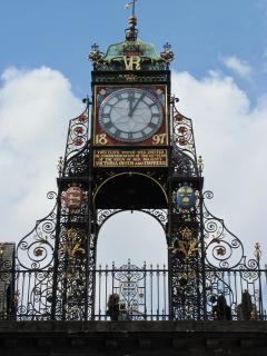 Chesters East Gate Clock Designed by John Douglas, Less than 5 minutes walk
