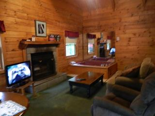 Affordable Gatlinburg One Bedroom Log Cabin Rental