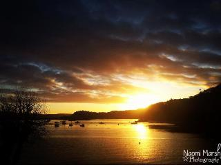 Sunset over Tobermory Bay