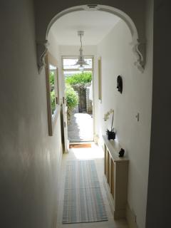 Hallway to garden