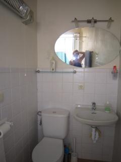 Lavabo/ducha dormitorio doble planta baja