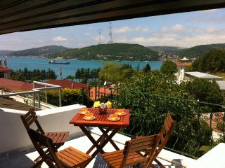 Bophorus View Terrace & Private Garden 4 BR 2BT, Estambul