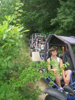 Enjoy exploring the countryside in a Buggy - great fun for all the family and only 20mins away