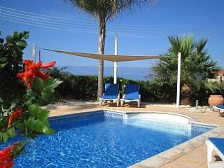 Holiday villa with Private Pool/ Sea Views/garden, Peyia