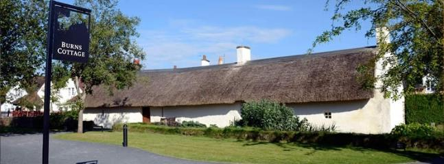Burns Cottage at Alloway, birthplace of Robert Burns, South Ayrshire.