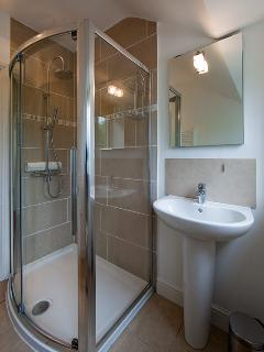 Garden Cottage bathroom with large walk in shower