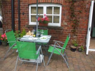 Alfresco dining, BBQ available.