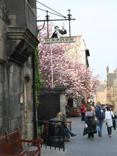 Old Tolbooth - beside house