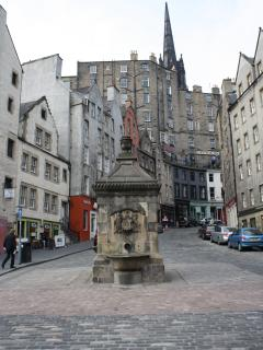 Victoria Terrace which leads to the Grassmarket - off the Royal Mile
