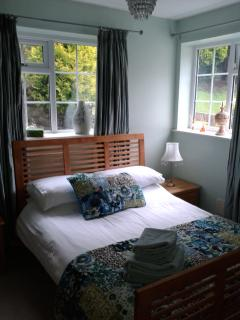 Peaceful double bedroom