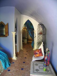 Bedroom gîte 'Marrakech'