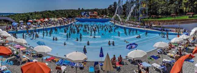 Aquapark for family fun