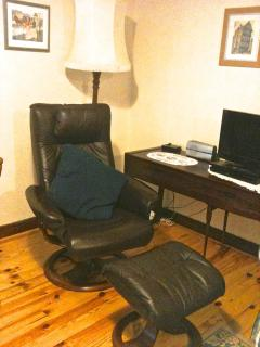 Main Lounge and leather relaxer chair