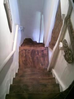 Character wooden staircase