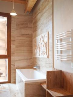 GELSOMINO C FULL BATHROOM  WITH A PERFECT VIEW FOR VOLTERRA
