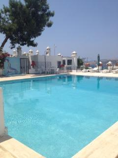 Shared Pool with Bodrum View