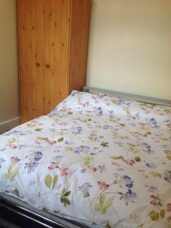 Double bed 3 upstairs